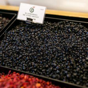 Blueberries με χυμό μήλου